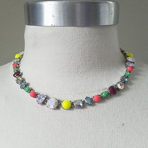 Bright Rhinestone necklace neons